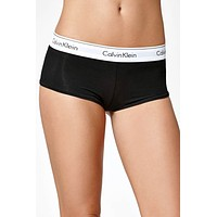 Calvin Klein Black Modern Cotton Boy-Short