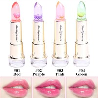 2016 International Package kailijumei flower lipstick lip balm jelly tint NY matte lipstick Lip Gloss Crystal lip pomade