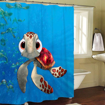 Squirt Finding Nemo Shower Curtains