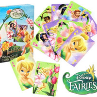 Bicycle® Disney Fairies TINKERBELL Playing Cards