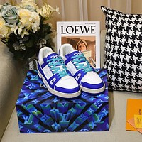 lv louis vuitton womans mens 2020 new fashion casual shoes sneaker sport running shoes 210