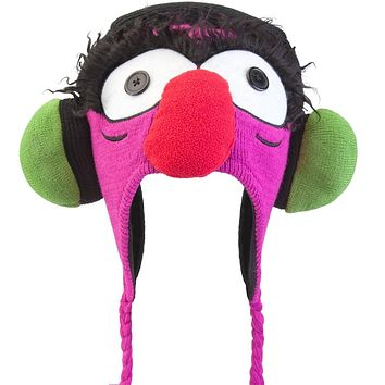 Muppets - Headphones Animal Big Face Peruvian Knit Hat