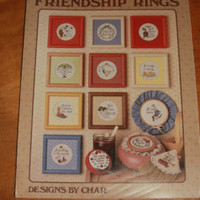 Cross Stitch Pattern Friendship Rings Designs by Char