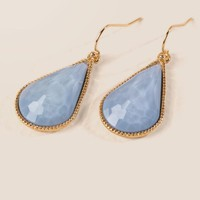 Vanessa Teardrop Earring In Periwinkle