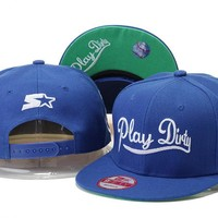 Perfect Undefeated Play Dirty Snapback hats Women Men Embroidery Sports Sun Hat Baseball Cap Hat