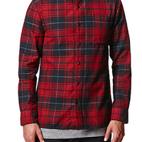 Reign+Storm Vagabond Plaid Woven Shirt at PacSun.com
