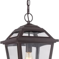 0-024332>Ridge 1-Light Outdoor Western Bronze