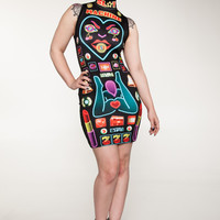 Slot Machine Minidress