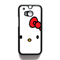 Cartoon Hello Kitty HTC One | M8 Case
