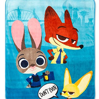"Disney Zootopia Plush Throw Blanket 50"" x 60"""