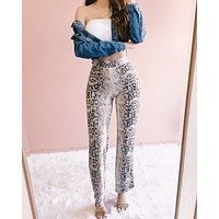 RATTLE THAT SNAKE FLARE PANTS (GREY)