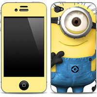 NEW Despicable Me Minion iPhone Skin FREE SHIPPING