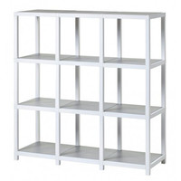 Modlife White Zurich Modular Shelving Way Basics Free Standing Shelves & Bookcases Home Of