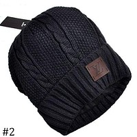LV Louis Vuitton winter new unisex fashion warm earmuffs knitted hat F-AJIN-BCYJSH #2