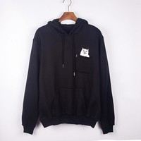 Hats Pullover Cotton Fleece Hoodies [9231073607]