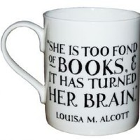 She is too fond of books Mug