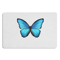 Big Blue Butterfly Placemat Set of 4 Placemats