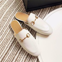 Gucci Princetown Leather Slipper #1641