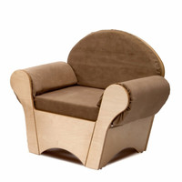 Whitney Brothers WB0845 - Child's Easy Chair - Tan
