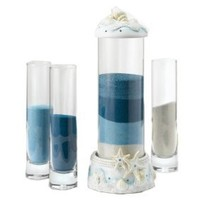 Amazon.com: Hortense B. Hewitt Wedding Accessories Seashell Sand Ceremony Set: Home & Kitchen
