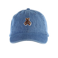 ROCK TEDDY CAP / INDIGO