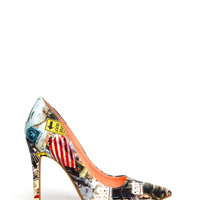 Print It Out Pointy Stiletto Heels