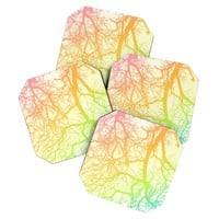 Shannon Clark Bright Branches Coaster Set