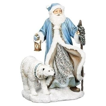 Roman Santa with Polar Bear and Lantern-633269