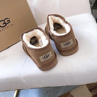 UGG hot sale couple models simple low-cut lazy boots Shoes