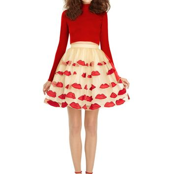 alice + olivia | POUT POOF SKIRT