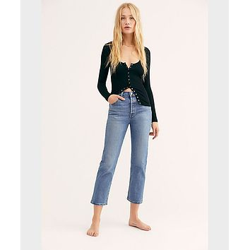 Wedgie High Waisted Jean Charleston Moves