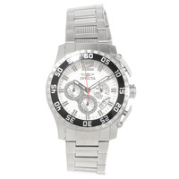 Invicta 16649 Men's Specialty Silver Dial Steel Bracelet Chronograph Watch