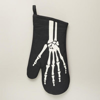Halloween Skeleton Oven Mitt | World Market