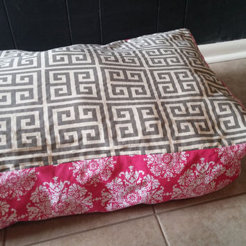 27x42 Custom Large Rectangle Floor Pillow Cover, Dog Bed