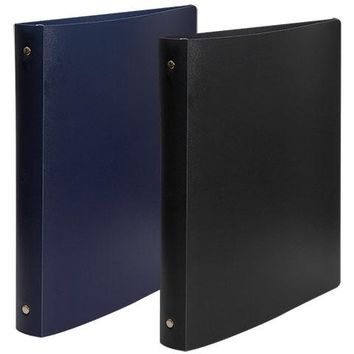 """Jot 3-Ring Binders with Flexible Poly Covers, 1"""""""