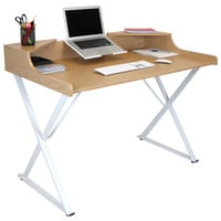 Notation Desk, Nat/White