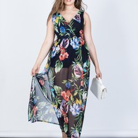 Plus Size Tropical Dreams Romper