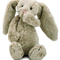Jellycat Bashful Beige Bunny, Medium - 12""