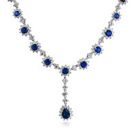 Bling Jewelry Crown Rules Necklace