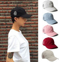 Anti Social Club Hat Cap Antisocial Social Club Letter Cool Hip Hop Street Weird Hat Street Baseball Cap