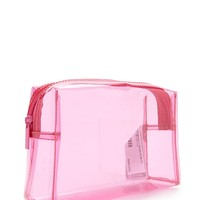 Translucent Makeup Bag