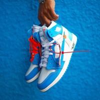"Off-White x Air Jordan 1 ""UNC"" - Best Deal Online"