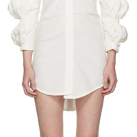 Ecru 'La Robe Santon' Shirt Dress