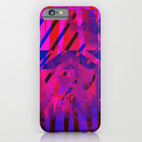 Clouds Mingle with Lines iPhone & iPod Case by Latidra Washington