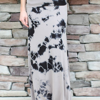 Together Tie Dye Maxi Skirt