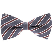 Tok Tok Designs Pre-Tied Bow Tie for Men & Teenagers (B56, T/C Cotton)