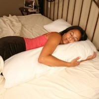 Pregnancy Pillow - Best L Shaped Extra Long Body Pillows for Pregnant Women - Most Comfortable Neck Support for Side Sleeping - 1 Year Guarantee