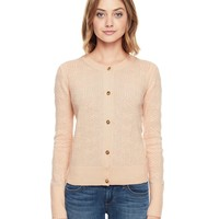 Cashmere Texture Bow Cardigan by Juicy Couture