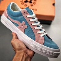 Trendsetter Creator x Converse One Star Ox Golf Le Fleur Women Men Fashion Casual Low-Top Old Skool Shoes