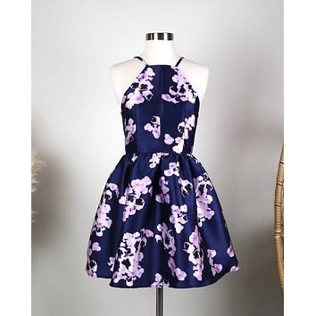 Floral Fit and Flare Dress in More Colors/Prints